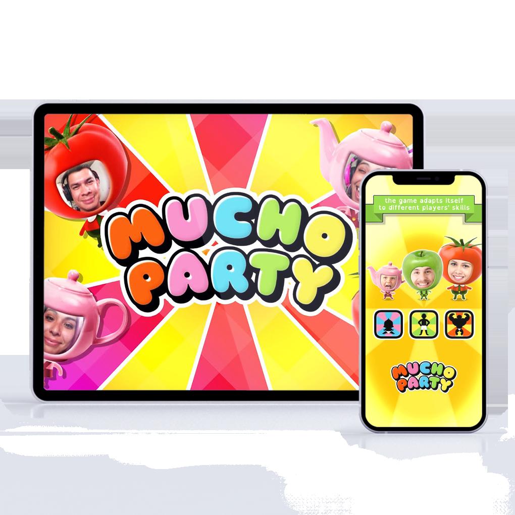 Le jeu Mucho Party sur tablette et mobile