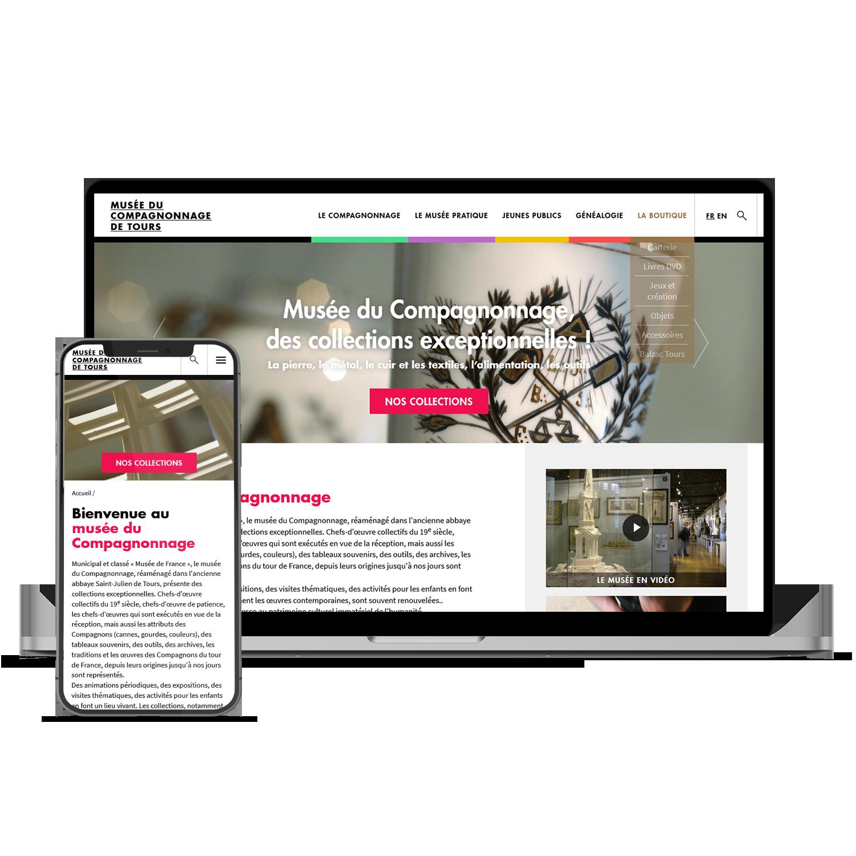 Site web Musee du Compagnonnage