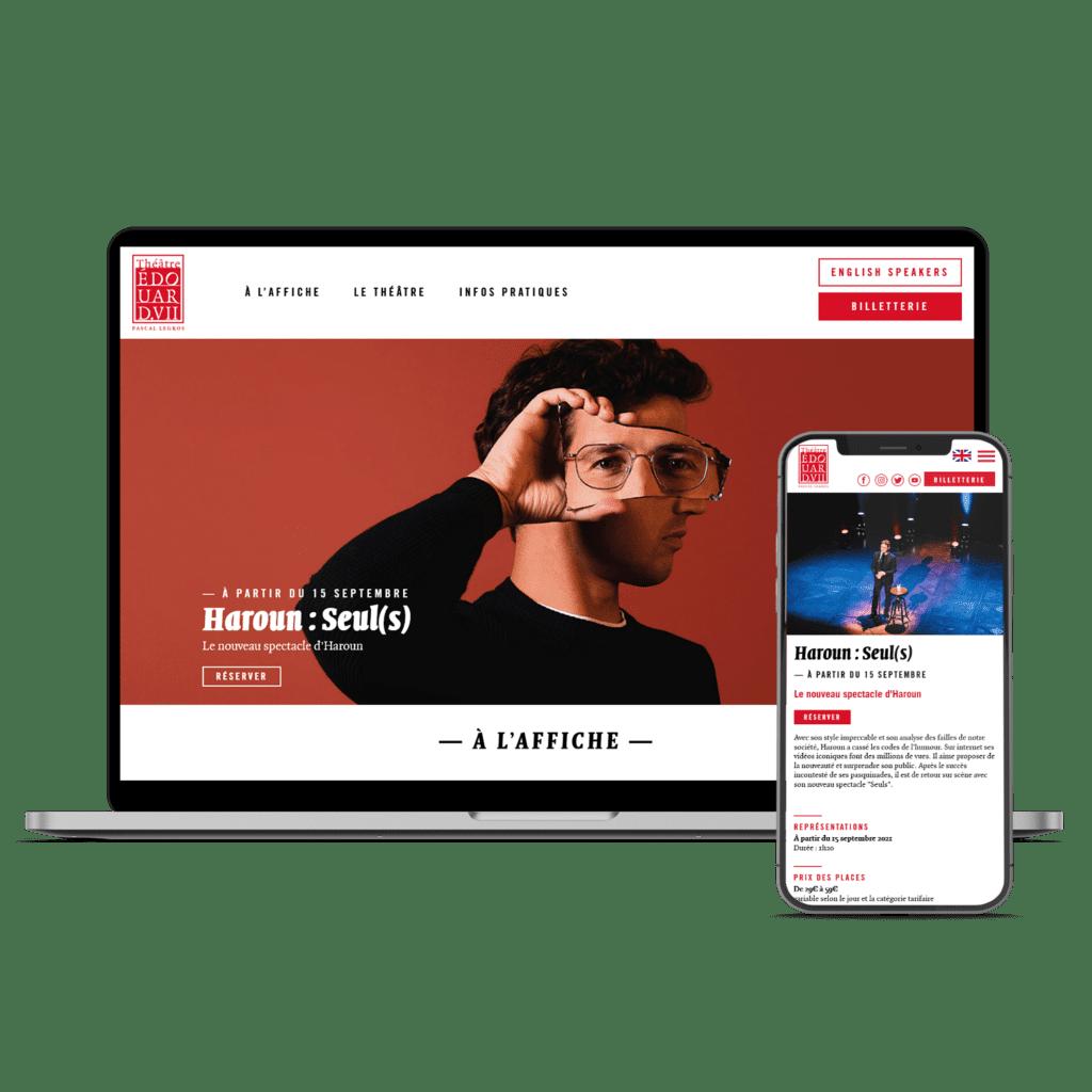 Site web Theatre Edouard VII Tours