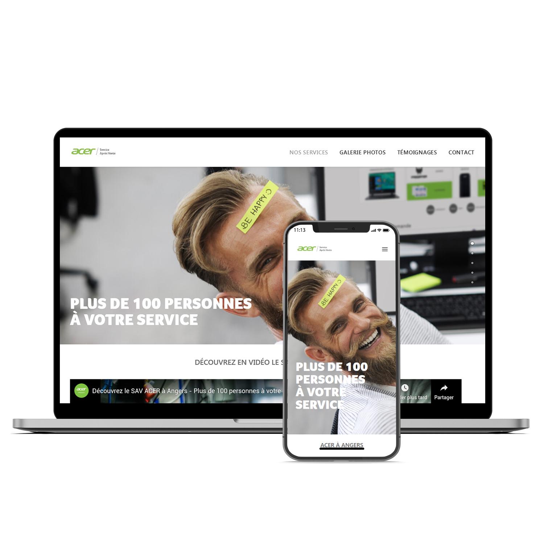 Acer France SAV site web