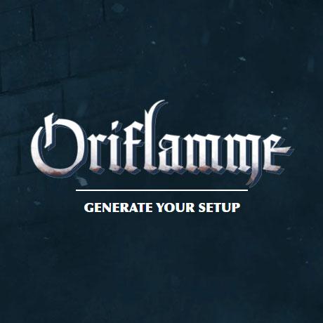 Oriflamme generator